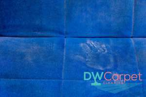 handprint-on-blue-fabric-sofa-cleaning-dw-carpet-cleaning-singapore