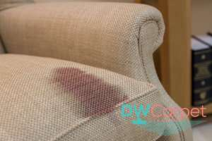red-stain-on-fabric-sofa-cleaning-dw-carpet-cleaning-singapore